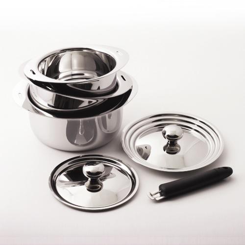 はじめて買う鍋としておすすめ:取っ手が外せる鍋 …